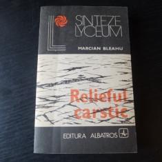 Relieful carstic – Marcian Bleahu