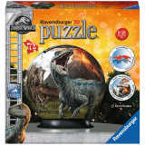 PUZZLE 3D JURASSIC WORLD, 72 PIESE, Ravensburger