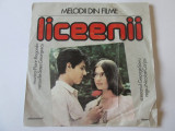 Rar!Vinil EP 7''Florin Bogardo-Melodii din filme:Liceenii/Declaratie de dragoste, electrecord