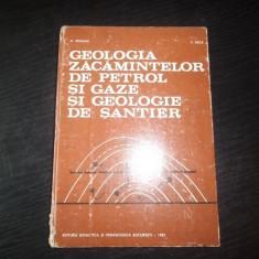 Geologia zacamintelor de petrol si gaze si geologie de santier – D. Prodan, C. Beca