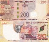 Swaziland 200 Emalangeni 2017 Polimer UNC