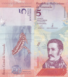Venezuela 5 Bolivares 2018 UNC