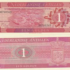 Antilele Olandeze 1 Gulden 1970 UNC