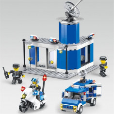 CITY POLICE 355 PIESE,JOC CONSTRUCTIE TIP LEGO SECTIA DE POLITIE,MARE DIMENSIUNE