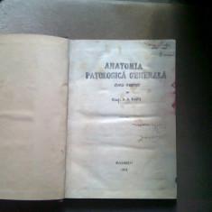 ANATOMIA PATOLOGICA GENERALA