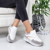 Pantofi sport Elimas albi