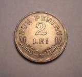2 lei 1924 Bruxelles AUNC