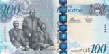 Botswana 100 Pula 2014 UNC