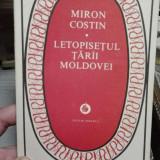 Letopisetul Tarii Moldovei – Miron Costin