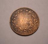 5 bani 1867 Heaton