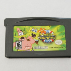 Joc Nintendo Gameboy Advance GBA - The SpongeBob Squarepants, Actiune, Toate varstele, Single player