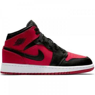 4f8a148c43adb2 ... Pantofi sport Nike Air Jordan 1 Mid 554724-610 foto delicate colors  0d332 1080b ...