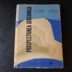 Prospectiunea geochimica – Fl. Popea, L. Steclaci, M. N. Filipescu, A. Steclaci
