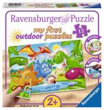 Puzzle dinozauri, 12 piese, Ravensburger