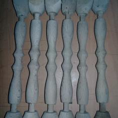 Coloane lemn vechi pentru mobila veche/antica,accesorii mobila retro,T.GRATUIT