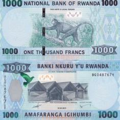 Rwanda 1 000 Francs  01.05.2015 UNC