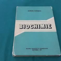BIOCHIMIE SPECIALĂ PENTRU STOMATOLOGIE/ AURORA POPESCU/ 1981