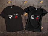 Tricou 30-ANI, L, M, S, XL, XXL, Maneca scurta, Alb, Negru