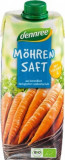 Suc din morcovi vegan ecologic 500ml Dennree