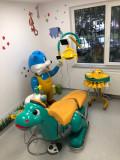 Unit dentar pentru copii - Dino, masuta medic detasabila