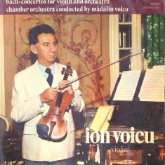 Bach-Concertos for violin&orchestra Madalin Voicu Electrecord vinil vinyl
