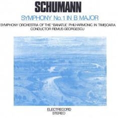 Schumann-Symphony 1 B Major-Remus Georgescu Electrecord vinil vinyl