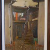 Tablou Mahala de Vasile Ferchezeu, ulei pe panza, 37 x 28.5 cm, Peisaje, Impresionism