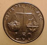 2.792 VATICAN PAPA IOAN PAUL II 50 LIRE 1992, Europa