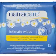 Servetele umede pentru igiena intima 12 buc Natracare