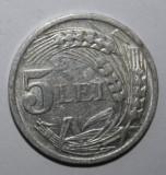 OKAZIE !!! 5 LEI 1947 ., Aluminiu