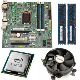 KIT Placa de baza Acer Q77H2-AM, LGA1155, Intel i5-3470 3.2GHz, 8GB DDR3 4...