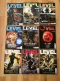 Lot reviste Level - 9 buc (8 din 2011 si 1 din 2012)