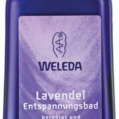 Lapte relaxant de baie cu lavanda 200 ml Weleda