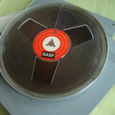 3 Benzi Magnetofon BASF - Una noua si doua inregistrate o singura data.