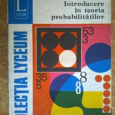 Rodica Trandafir - Introducere in teoria probabilitatilor