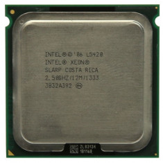 Intel Xeon Processor L5420 12M/2.50GHz/1333/LGA771, LGA 775 adaptor 775, 4