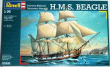 Jucarie H.M.S. Beagle Sailing Ships 1:96 Scale Revell Model Kit Exclusive