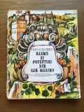 Basme si povestiri din San Marino, GIAN LUIGI BERTI, Ed Ion Creanga 1981