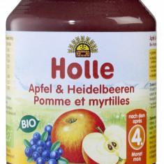Piure de mere si afine 190g Holle