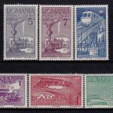 1939 Ceferiada , MNH , LP 132 /Mi. 609-614, Istorie, Nestampilat