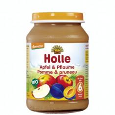 Piure Eco de mere si prune 190g Holle