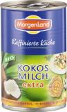 Lapte de cocos bio 400ml Morgenland