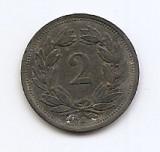 Elvetia 2 Rappen 1942 - Zinc, 20 mm KM-4.2b