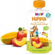 Piure Bio pentru bebelusi cu mar mango si piersica 100g Hipp