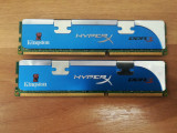Kit Memorie Ram Kingston Hyper X 4 GB (2X2) 1600Mhz DDR3 Desktop., DDR 3, Dual channel