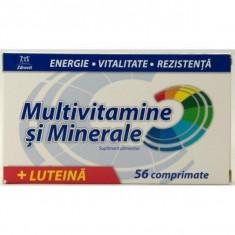 Multivitamine si minerale + Luteina 56 comprimate Zdrovit