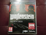 Joc Wolfenstein the New Order, PS3, original, alte sute de jocuri!, Actiune, 18+, Multiplayer