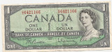Canada 1 Dollar Dolar 1954 VF