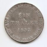 Germania - Hessen-Kassel 1 Thaler 1832 - Argint 750g/22.27, MV2 , KM-587, Europa