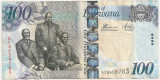BOTSWANA 100 PULA ND(2014) VF
